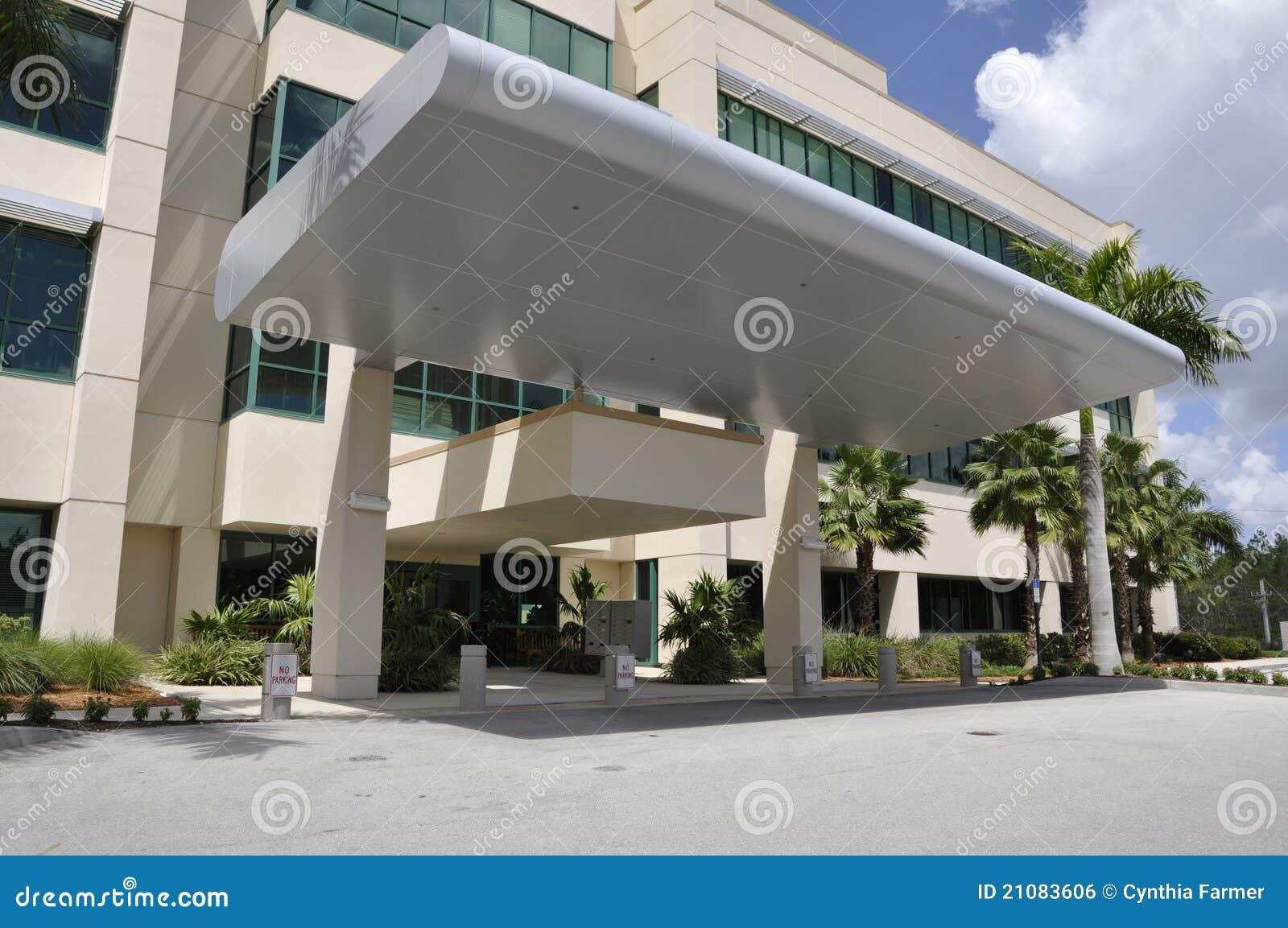 Classroom Design Themes ~ Modern hospital entrance royalty free stock image