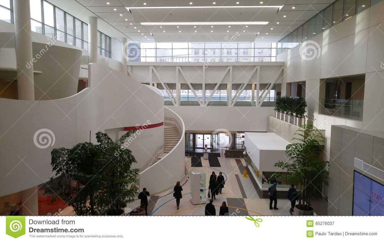 Modern hospital interior - Art Building Built College Concrete Glass Hospital Interior Light Lobby Modern