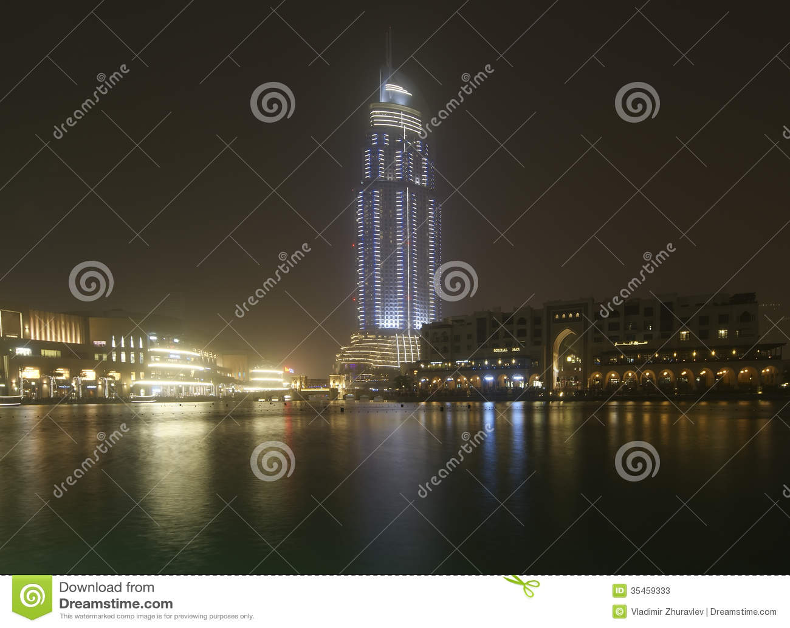Modern hotel address at downtown burj dubai dubai for Modern hotel dubai
