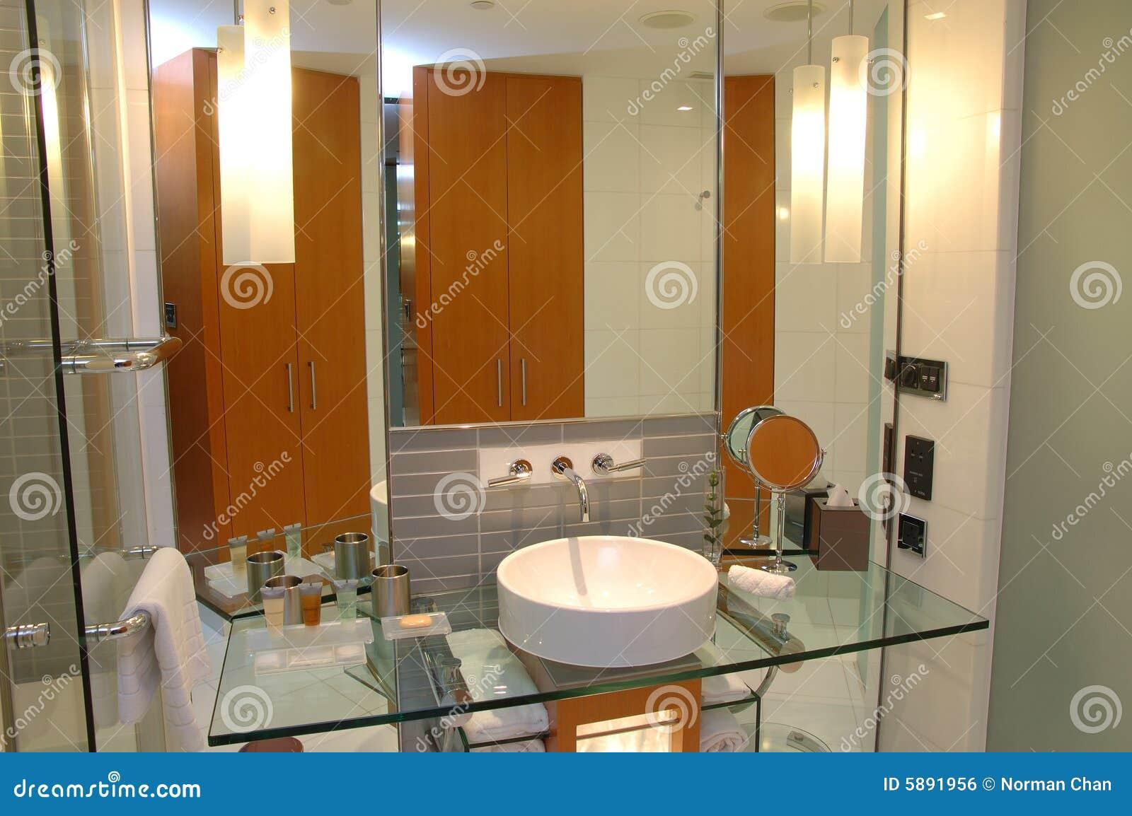 Modern Hotel Bathroom Royalty Free Stock Image Image 5891956