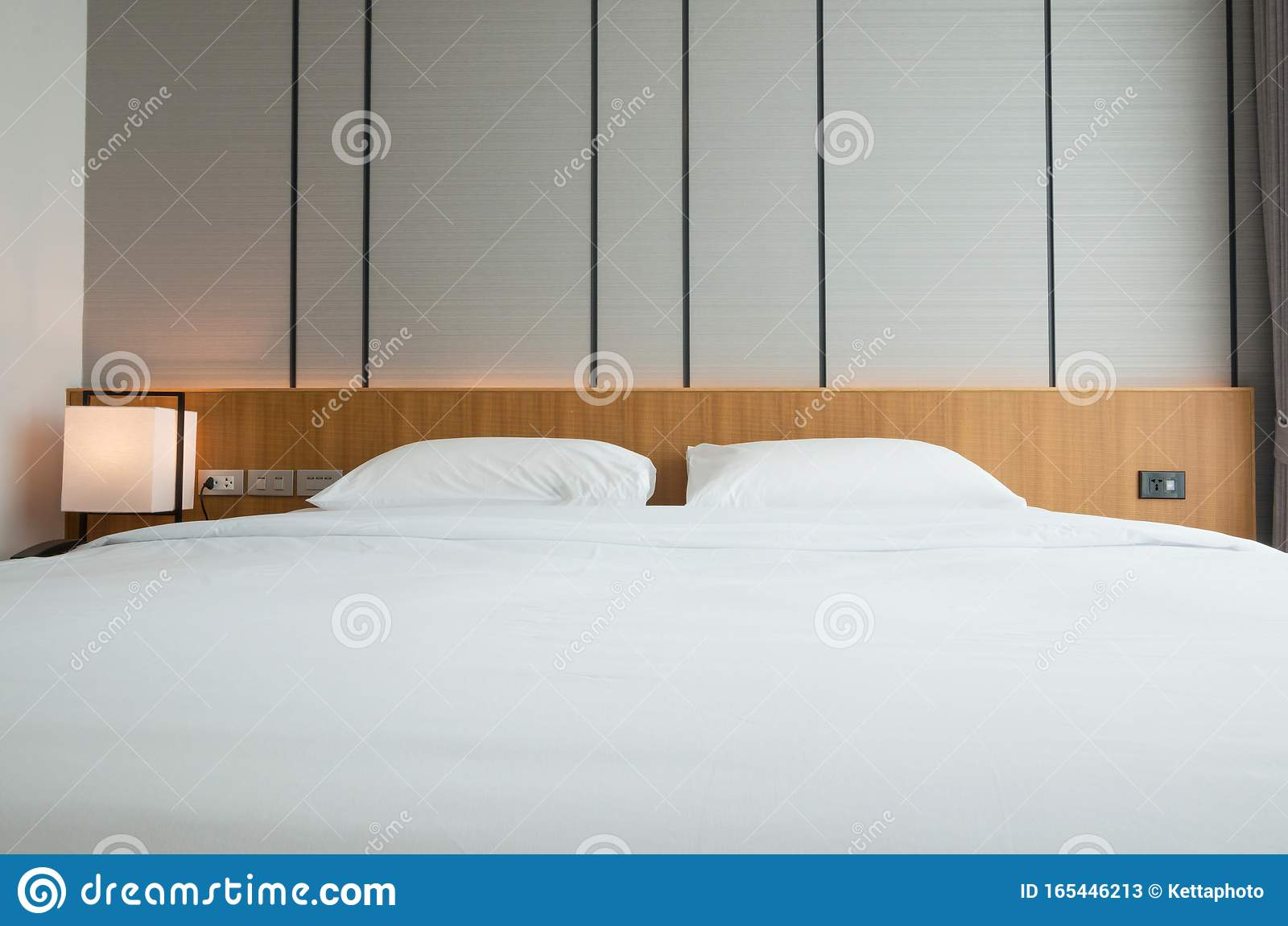 Modern Hotel Bed Room Interior Stock Image Image Of Japanese Furnishing 165446213