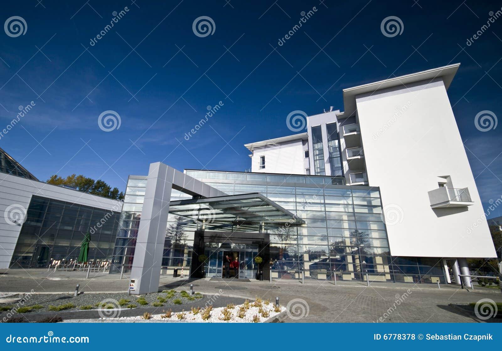 Modern Hotel Exterior Stock Photo Image Of Design