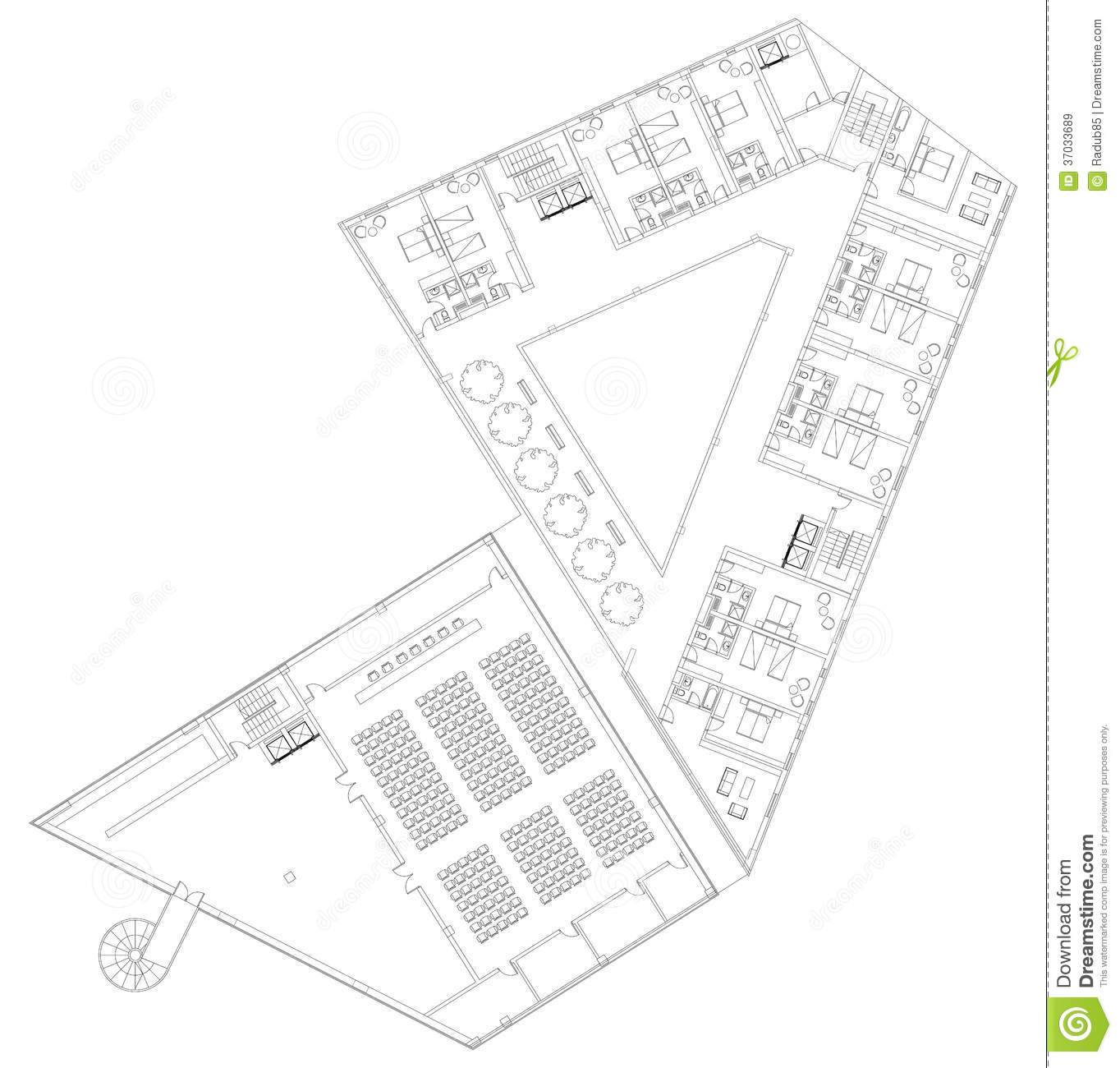 28 hotel floor plan images stock floor plan of island hotel floor plan images stock modern hotel floor architectural plan royalty free stock