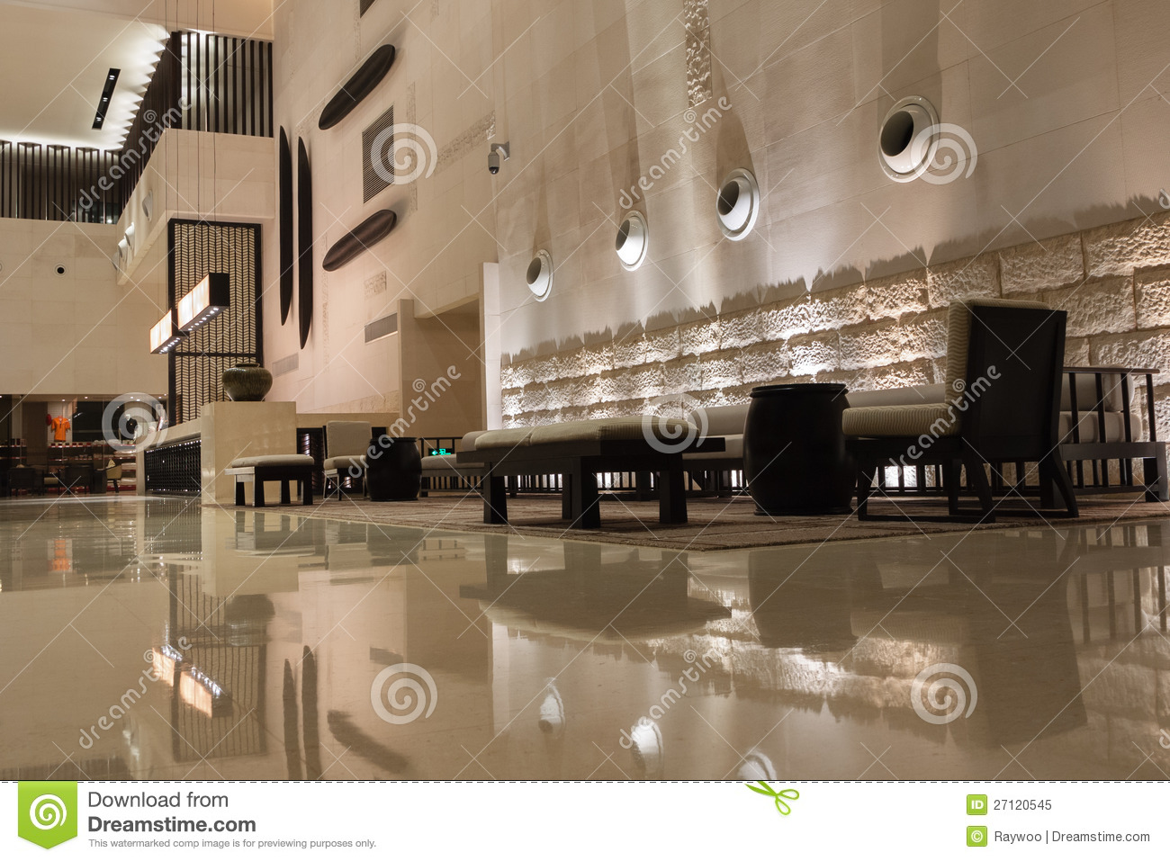 modern hotel interior royalty free stock photo - image: 27120545