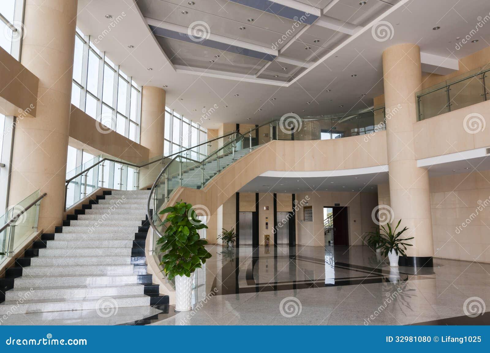 Modern Hotel Lobby modern hotel lobby stock image - image: 33911841