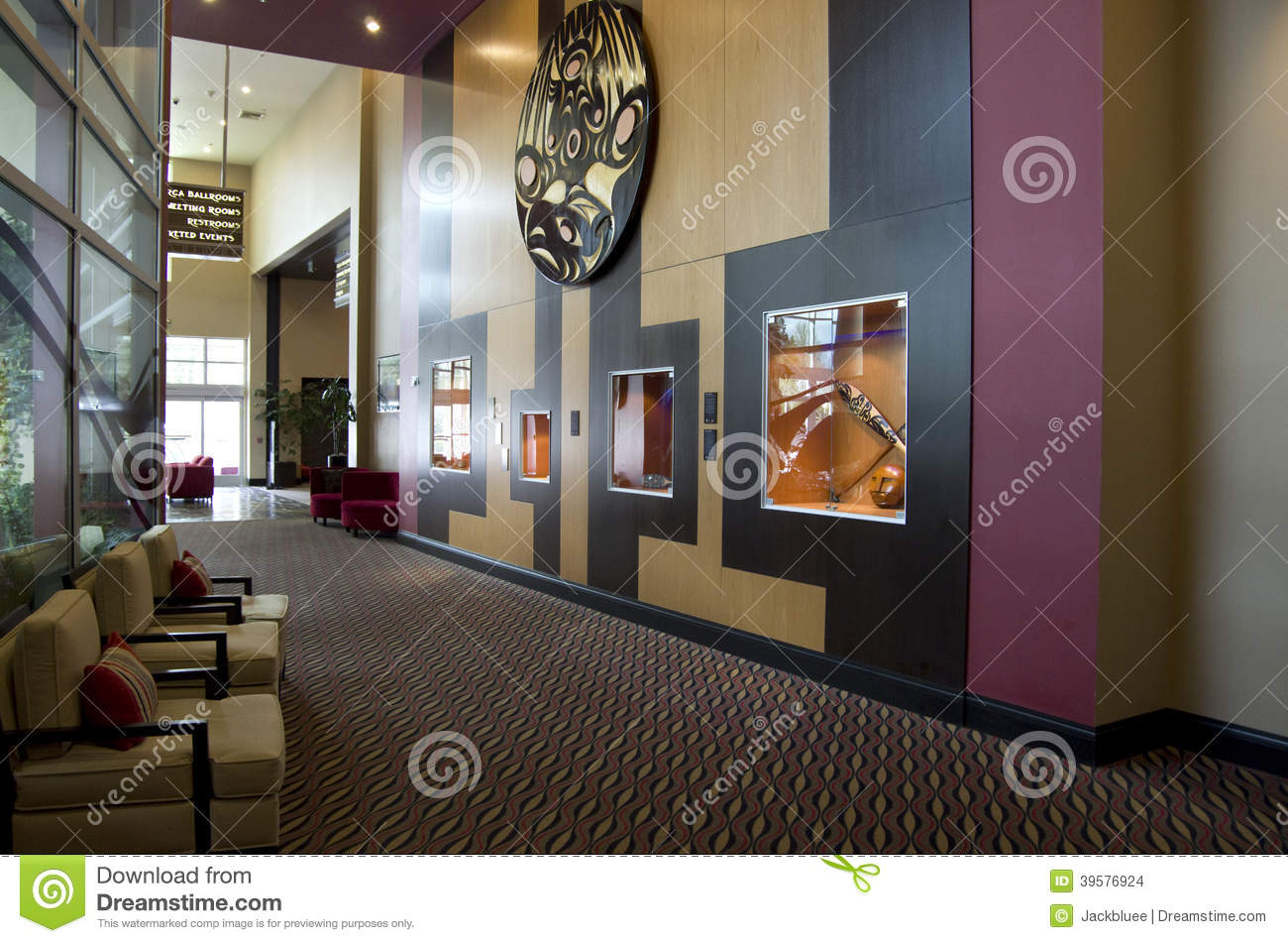 Modern hotel lobby editorial stock image image 39576924 for Nice hotel design