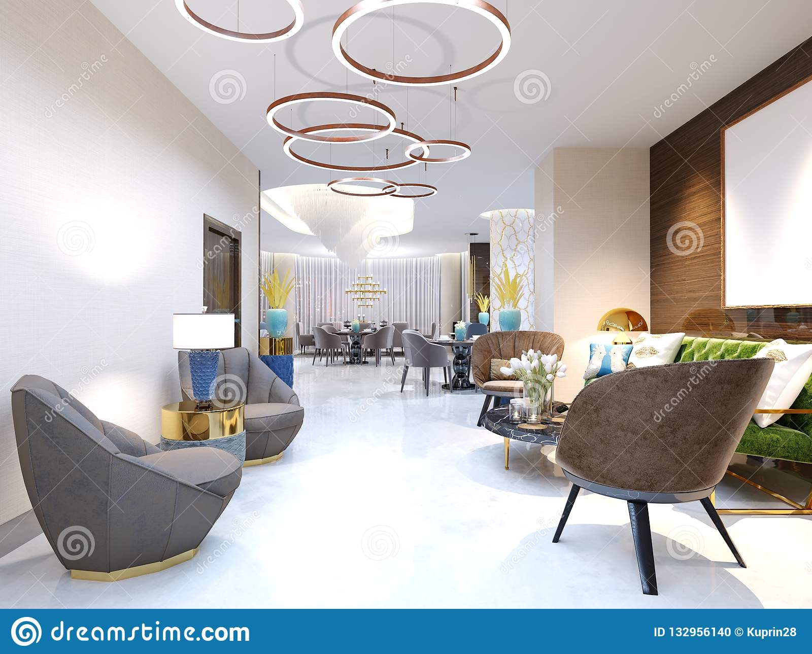 Terrific A Modern Hotel With A Reception Area And Lounge With Large Camellatalisay Diy Chair Ideas Camellatalisaycom