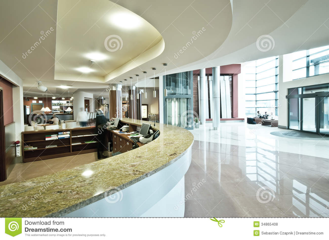 luxury hotel lobby reception area images modern hotel reception desk