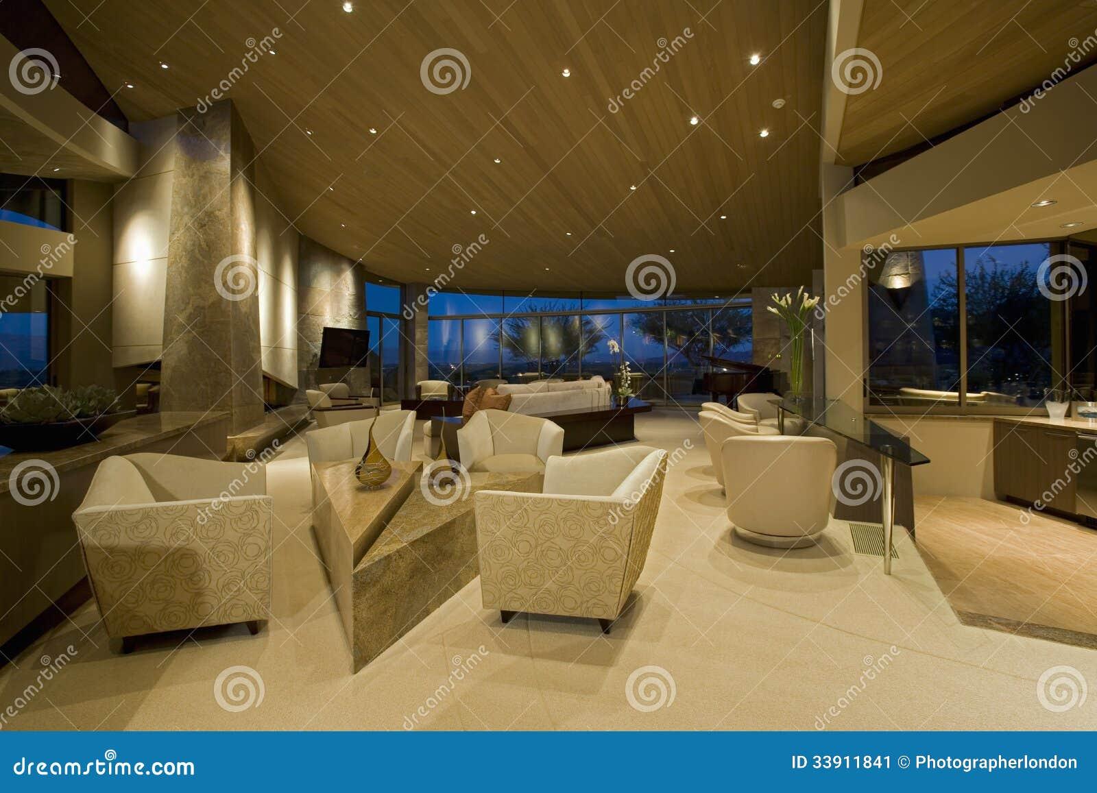Modern hotelllobby