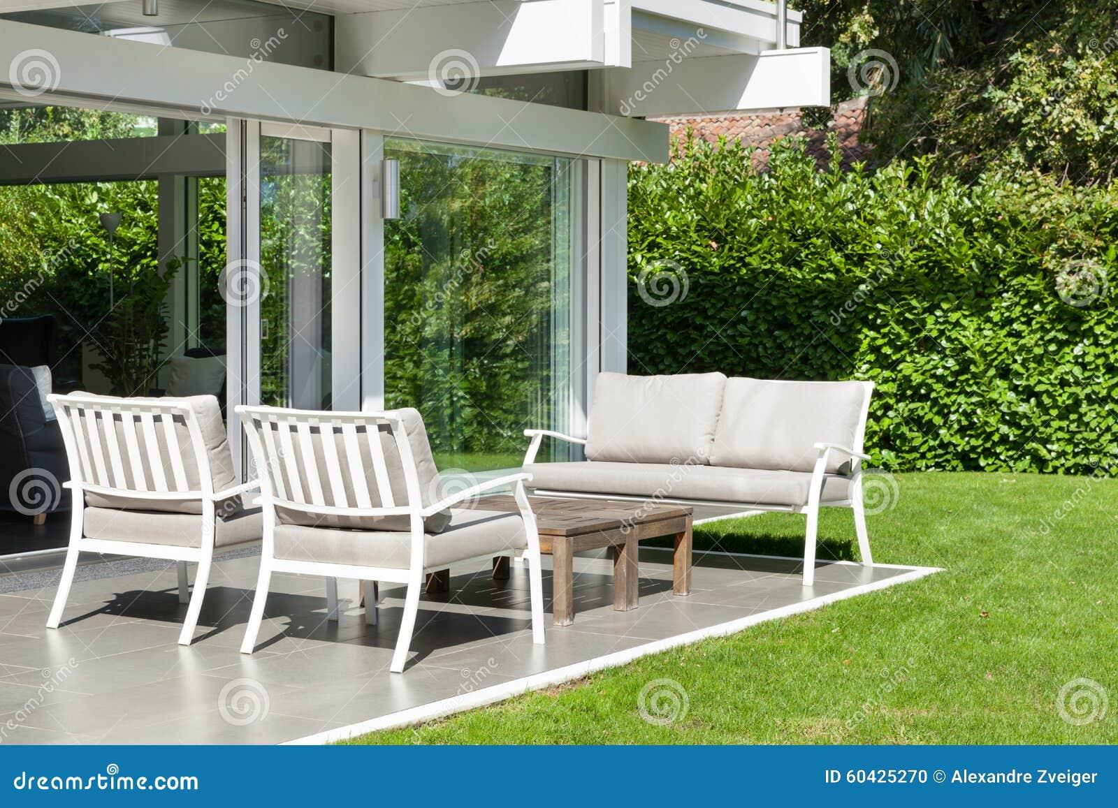 Modern House Beautiful Veranda Stock Photo Image 60425270