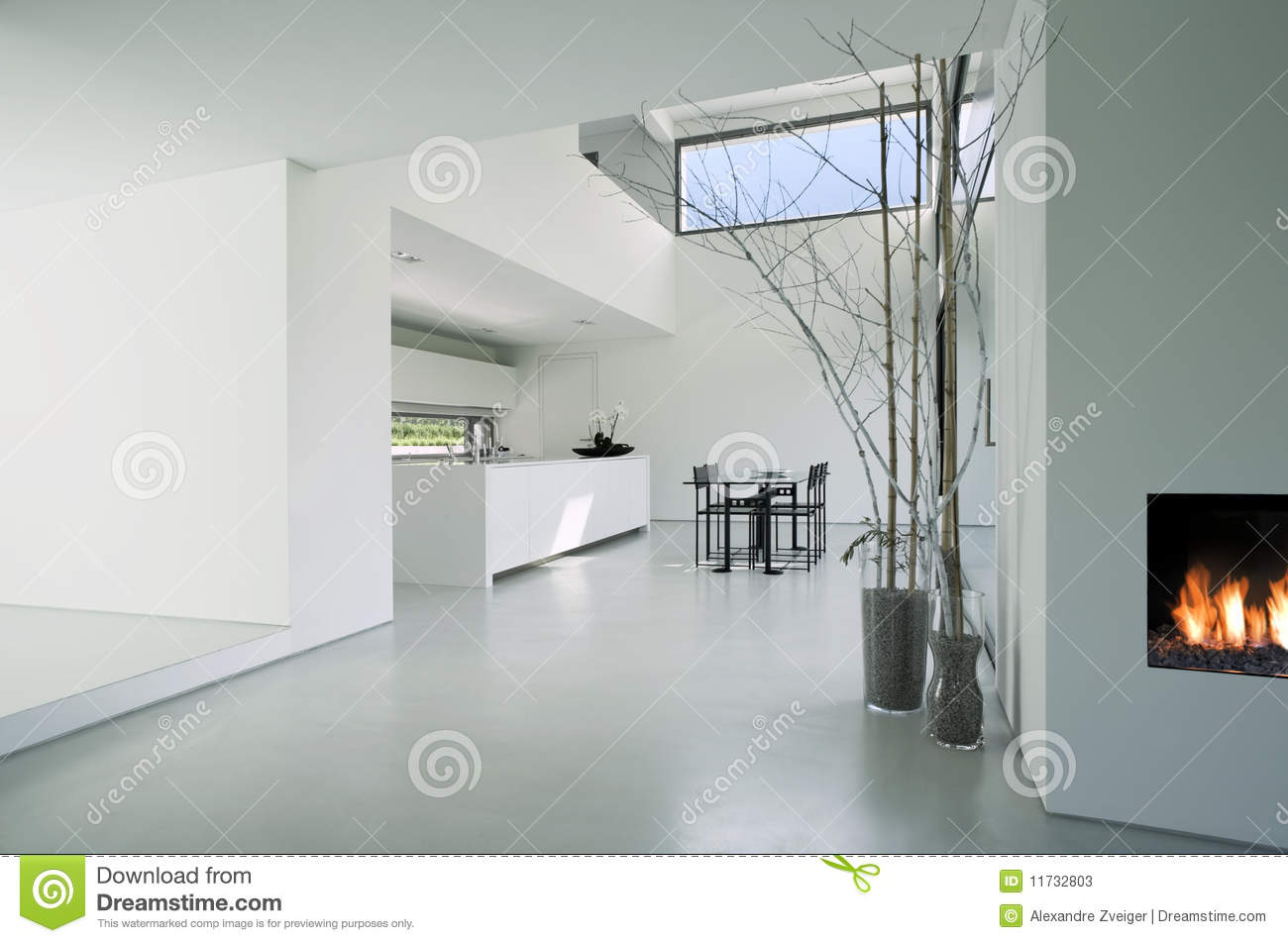 Modern House Interior Stock Photos - Image: 11732803 - ^