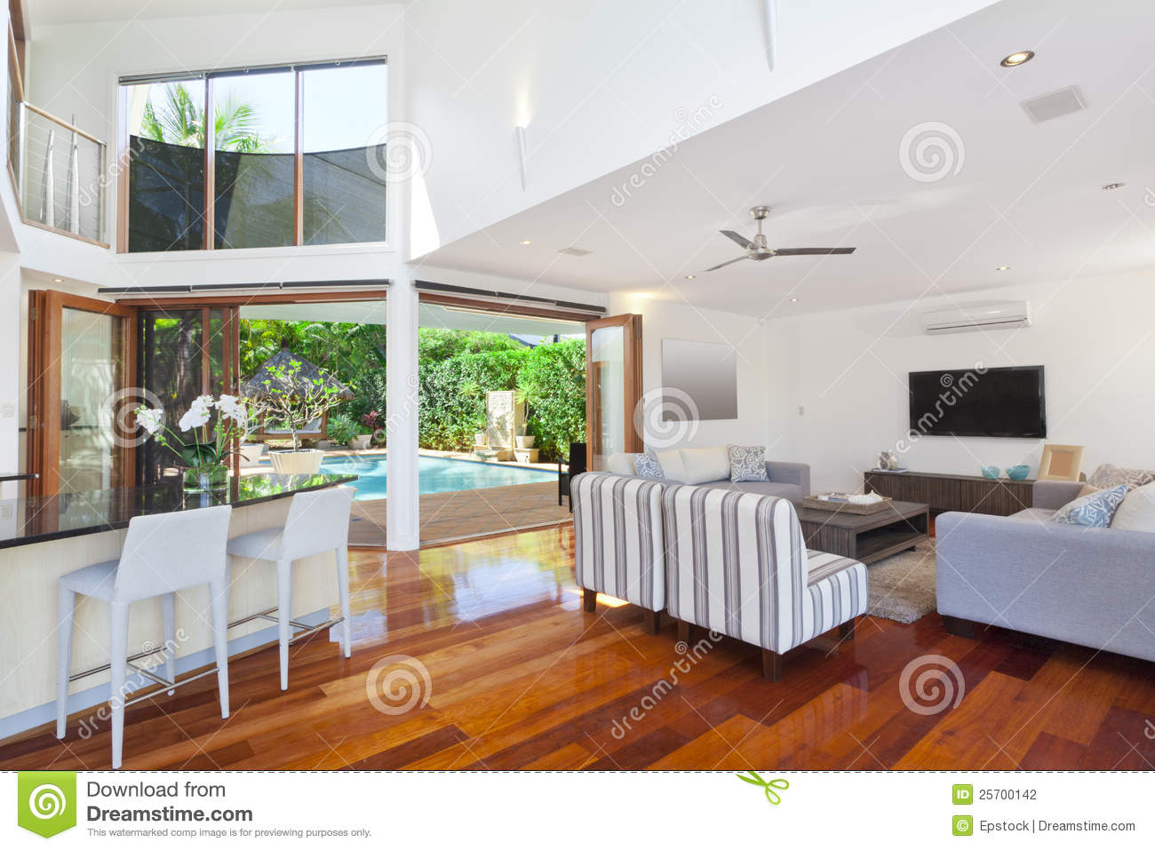 Modern house interior stock photo image of nobody real 25700142 - Contemporary house interior ...