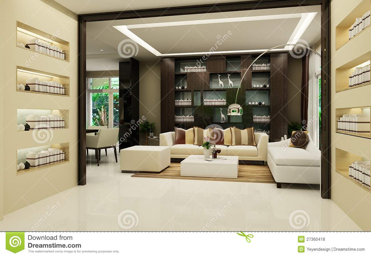 Modern House Interior oyalty Free Stock Photos - Image: 27360418 - ^