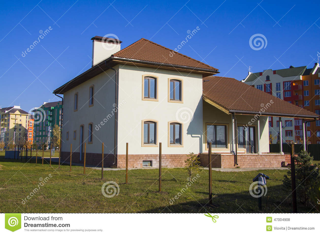 Modern house for rent stock photo image of houses for Modern house for rent