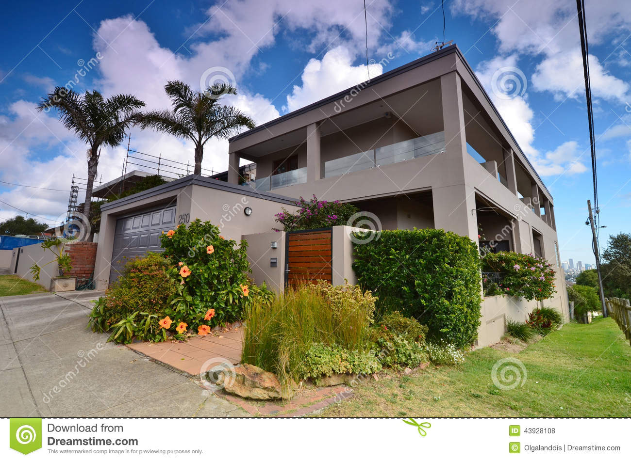 Modern House In Rose Bay Street Area Sydney City