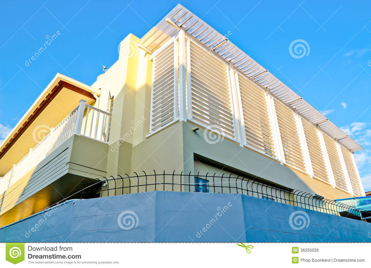 Modern House In hailand oyalty Free Stock Image - Image: 36255026 - ^