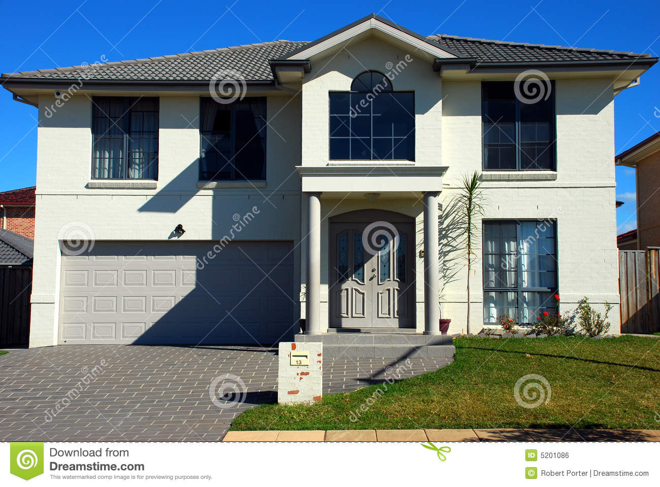 Modern house unlucky number royalty free stock image image 5201086 Unlucky house