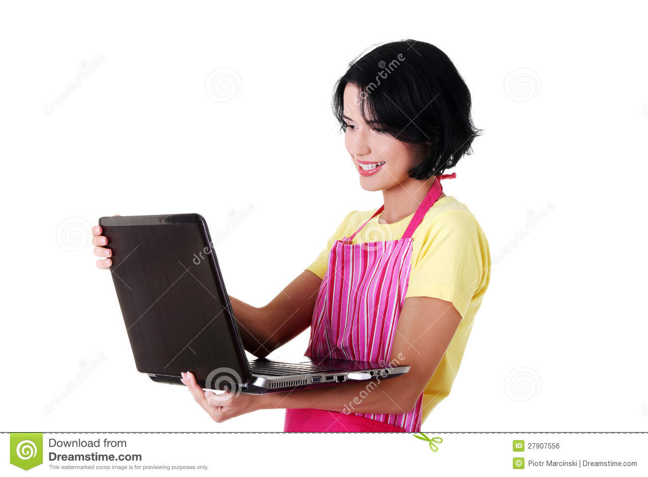 Modern housewife or female worker royalty free stock image for Modern housewife