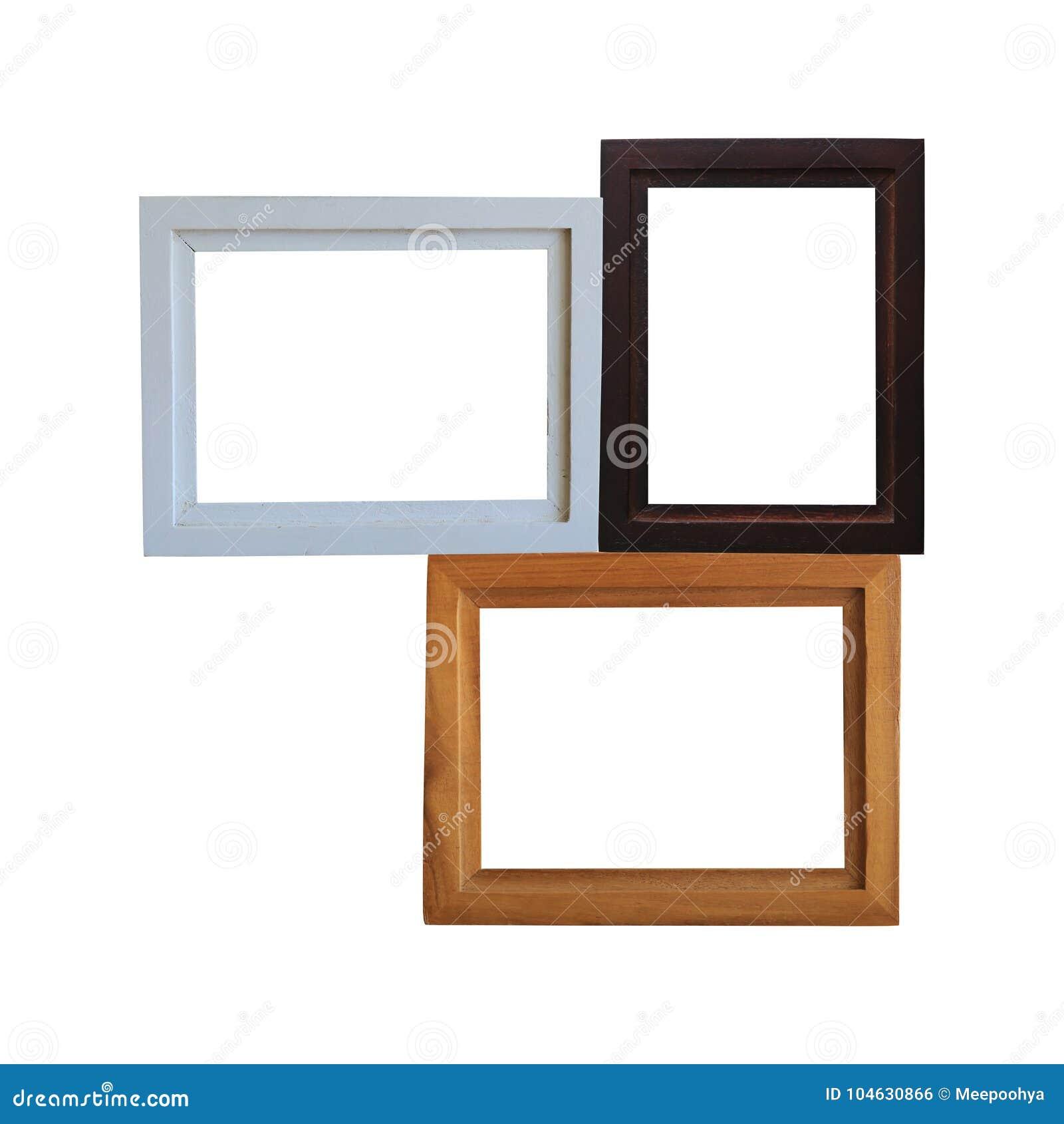 Download Modern Houten Geïsoleerd Kader Stock Foto - Afbeelding bestaande uit hout, malplaatje: 104630866
