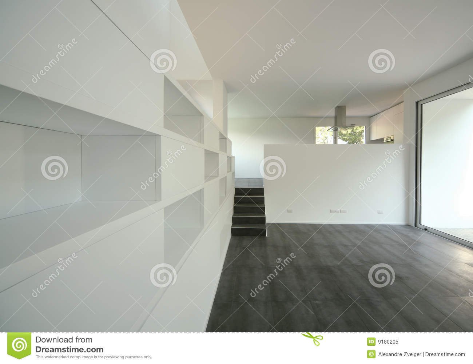 Modern huis royalty vrije stock foto afbeelding 9180205 - Huis modern kubus ...