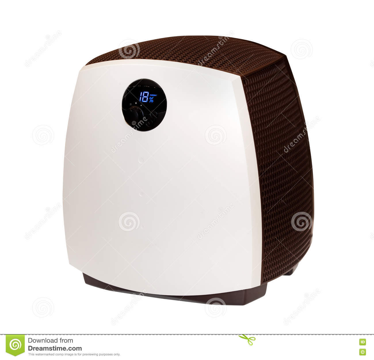 modern humidifier isolated stock photo  image  - humidifier isolated modern