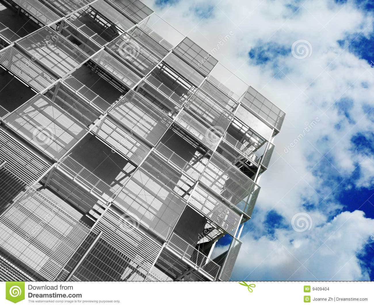 Modern industrial architecture stock photo image 9409404 for Industrial contemporary