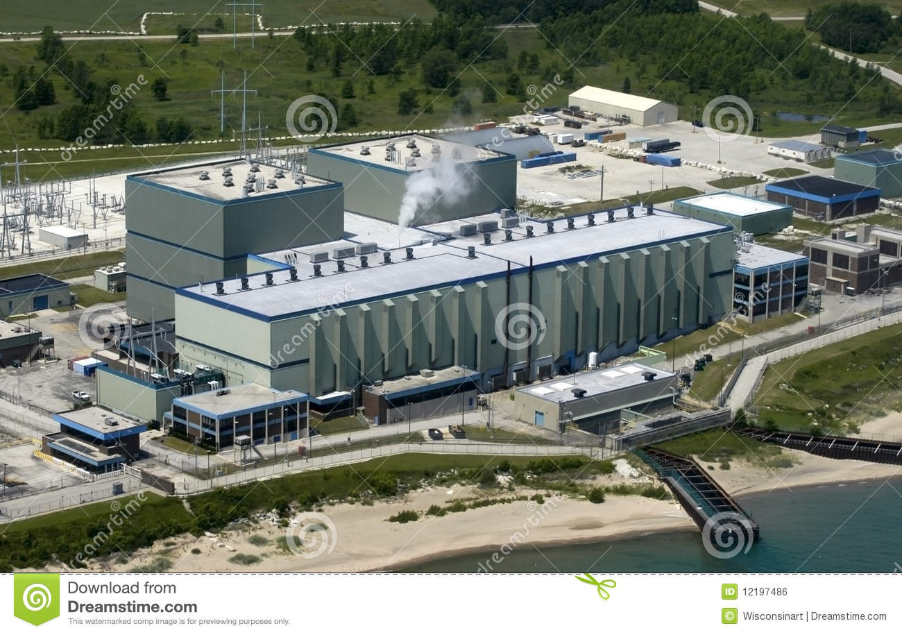 Download Modern Industrial Factory Plant With Aerial View Stock Photo - Image of scene, compound: 12197486