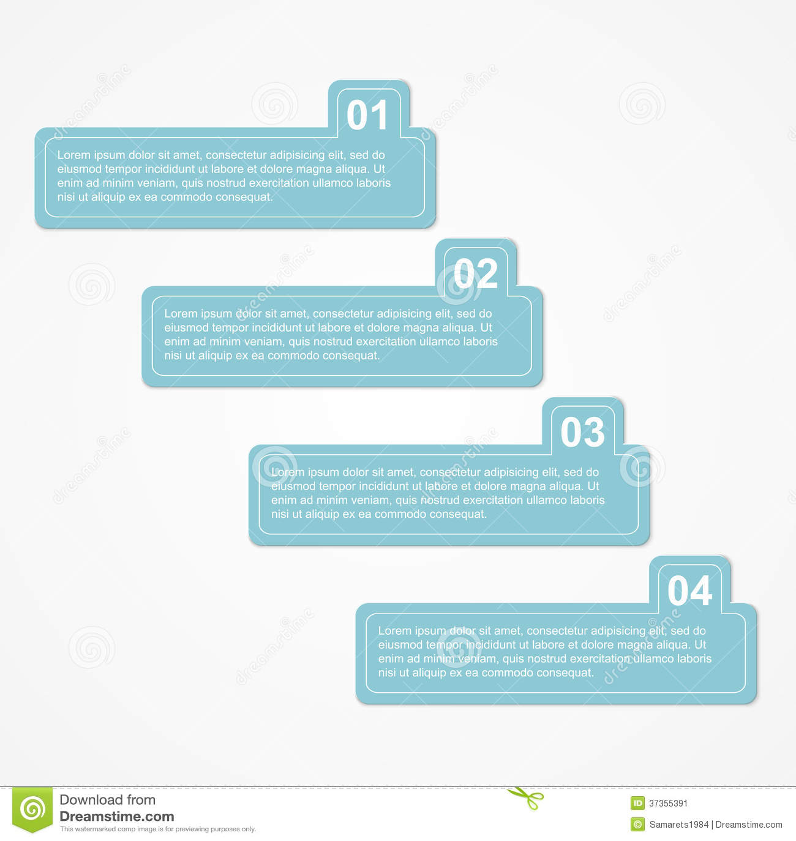 Modern Infographic Design Elements Vector Illust Stock