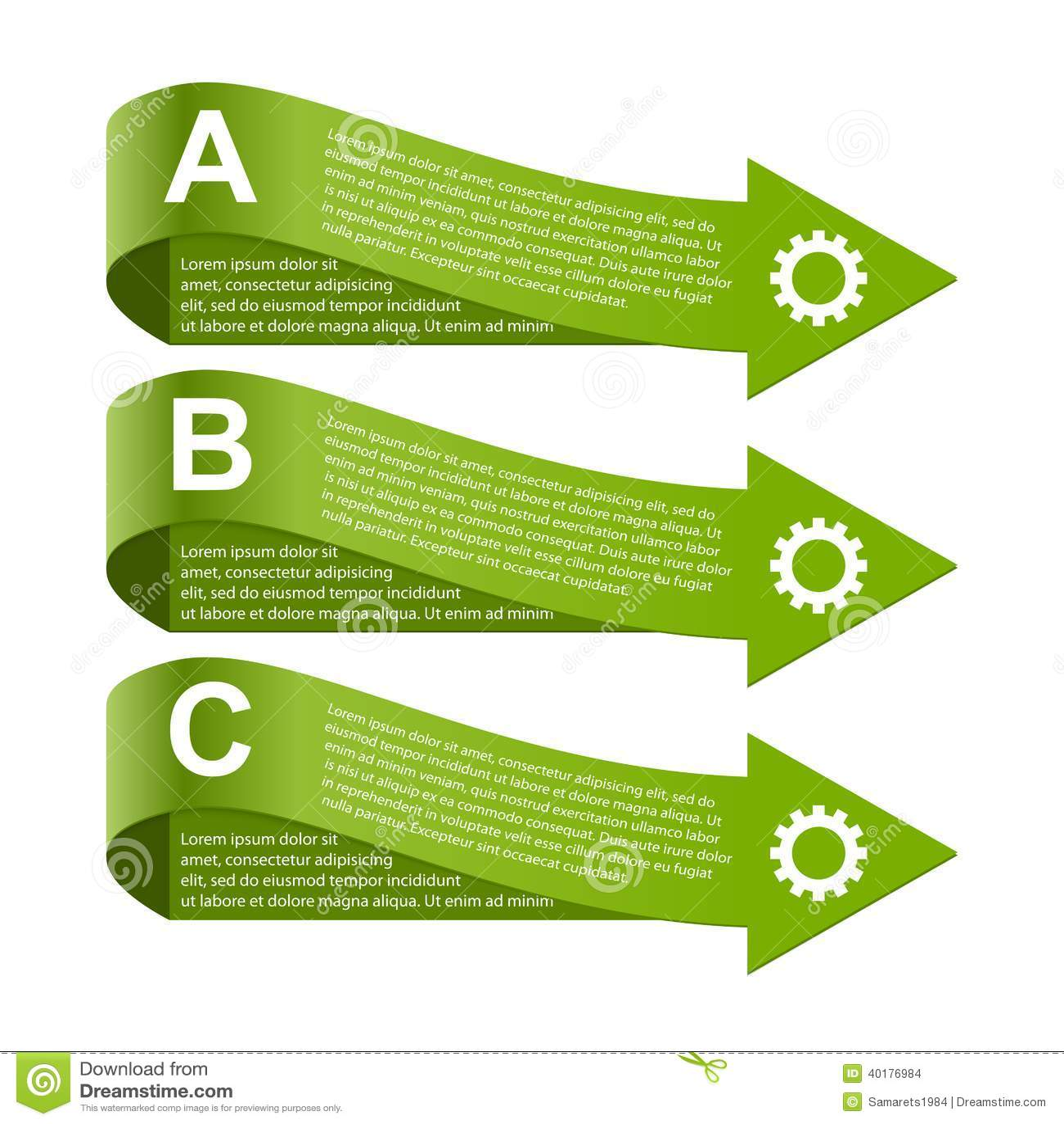 Modern Infographic Design Elements Stock Illustration