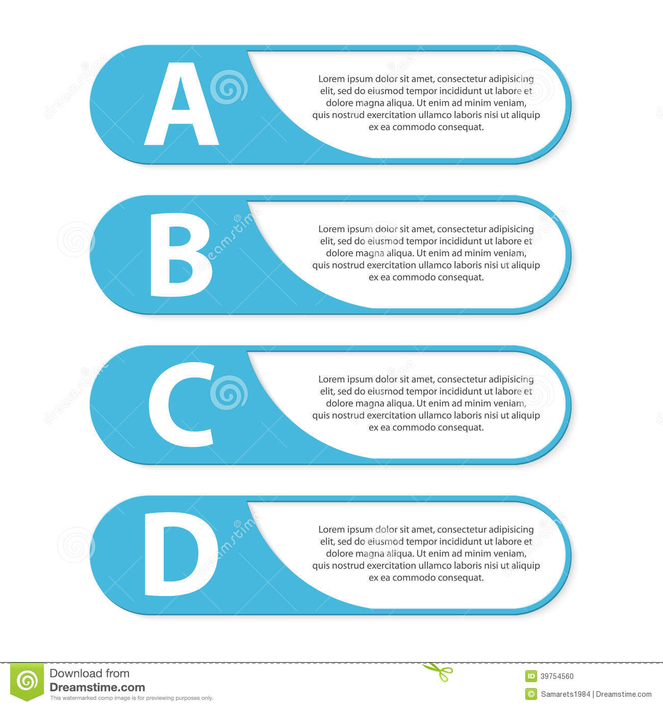 Modern Infographic. Design Elements. Vector Illustration. Stock ...