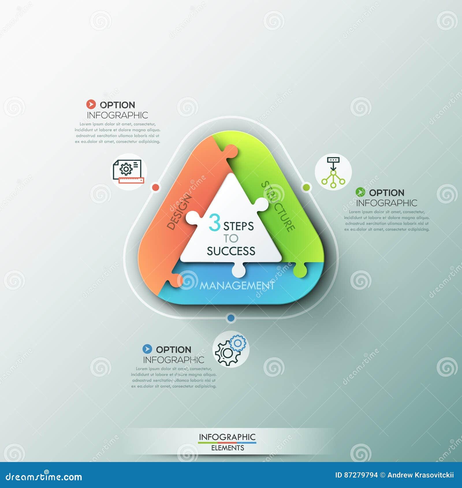 Modern Infographic Options Banner Stock Vector Illustration Of