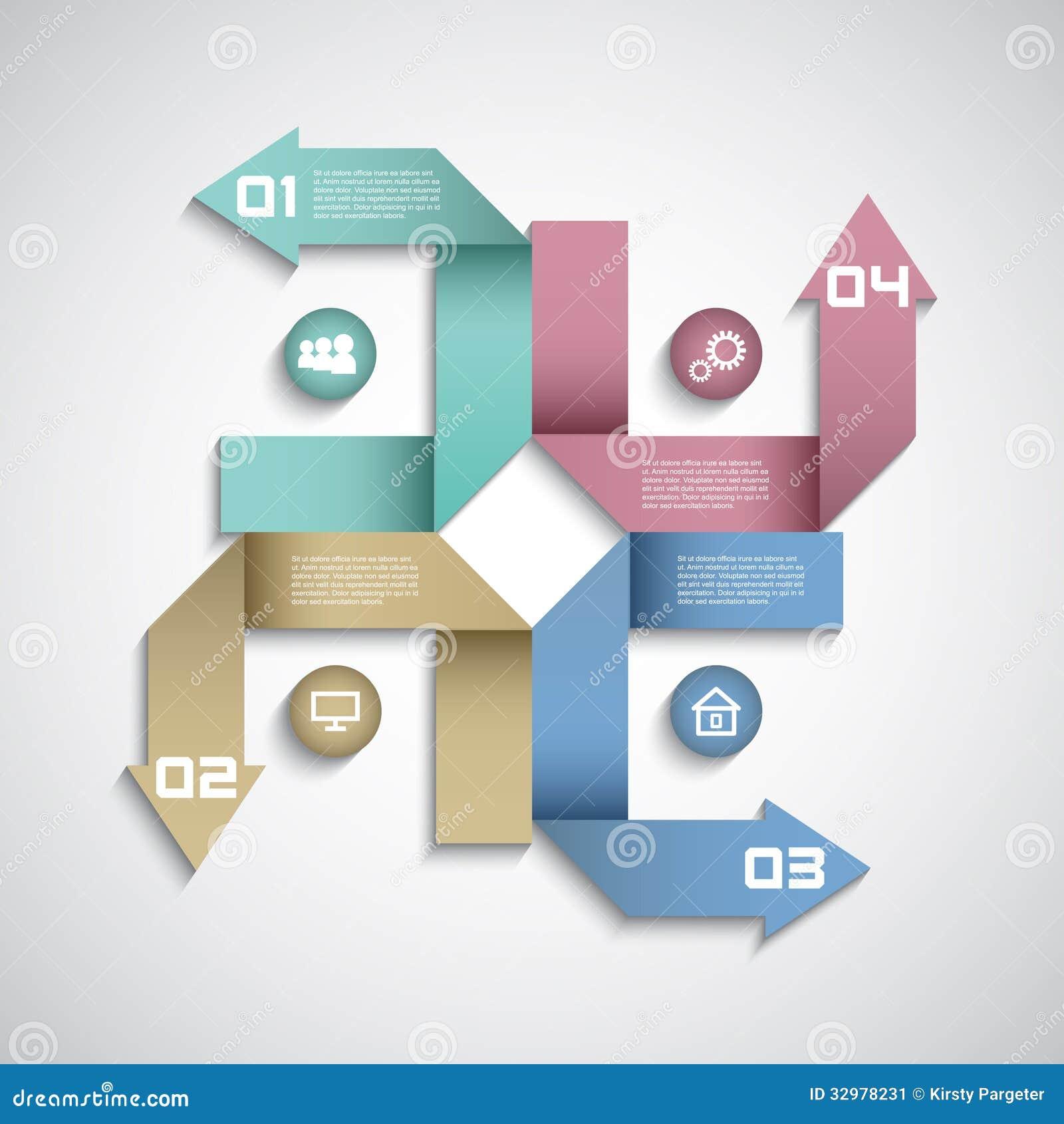 Modern Infographics Options Layout Design Stock Image - Image ...