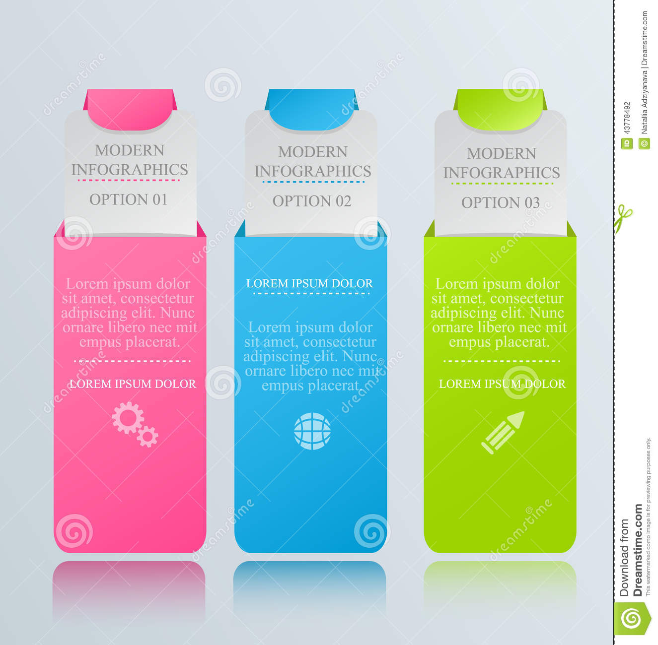 modern inforgraphic template can be used for banners website designs templates