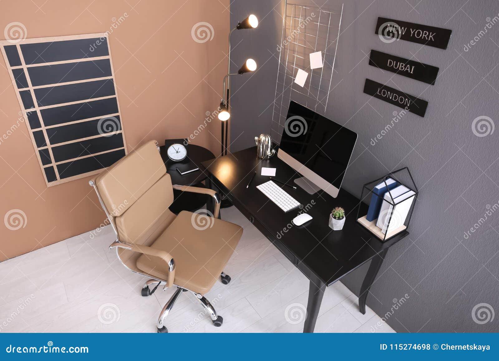 Modern inrikesdepartementetinre, sikt till och med kamera