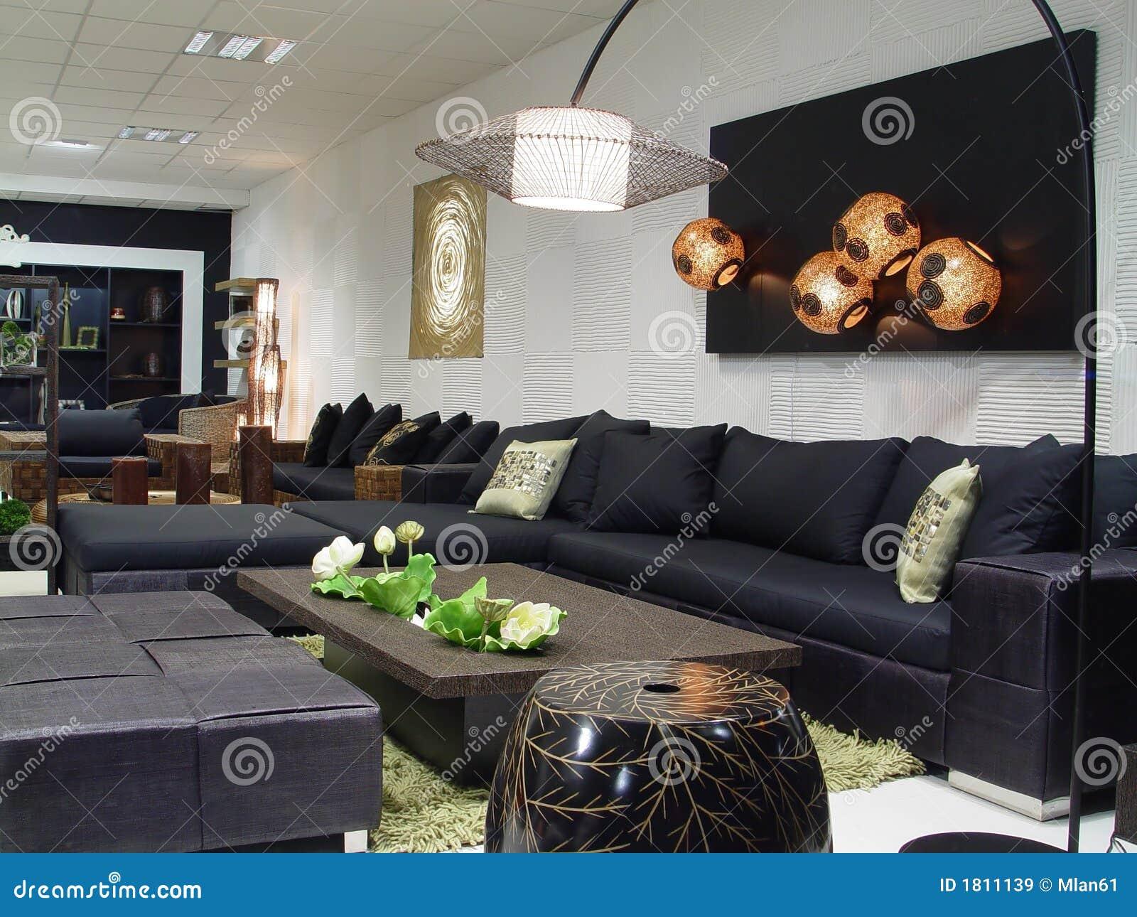 Modern interior stock image. image of luxury hall marble 1811139
