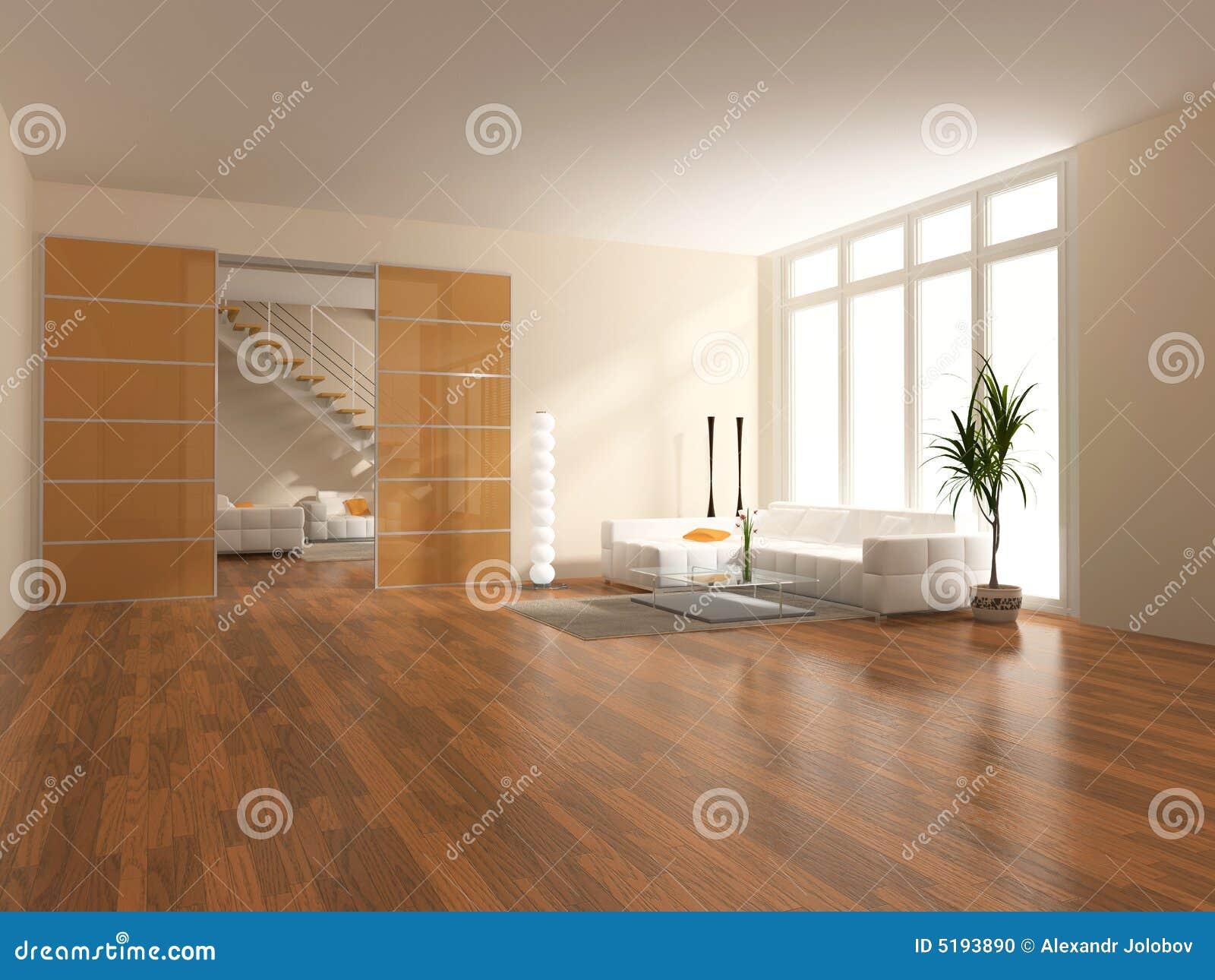 Modern interior stock illustration. illustration of hotel 5193890