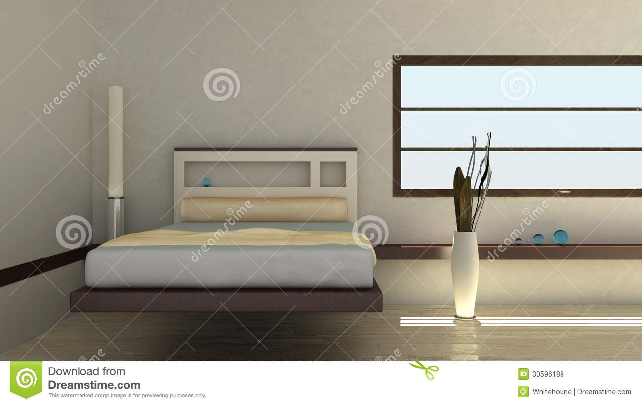 bedroom interior equipped abstract - photo #10