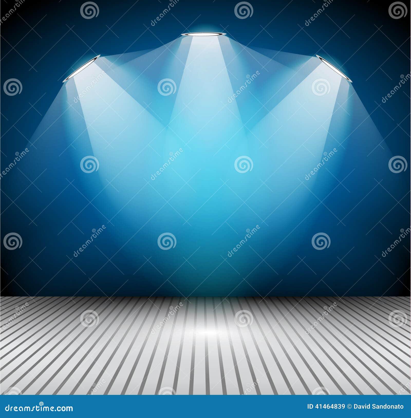 Modern interior art gallery frame design with spotlights for Spotlight design