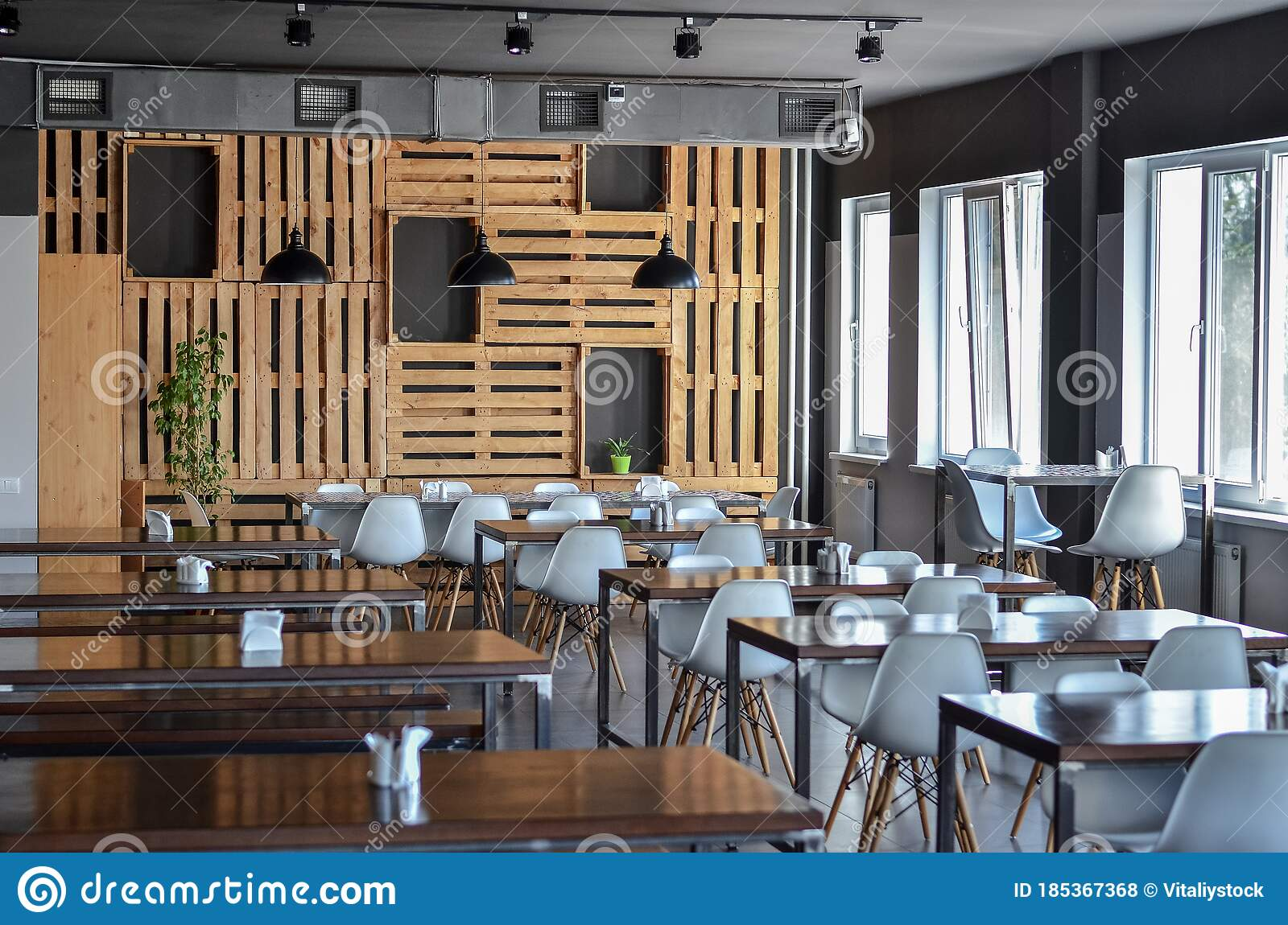Modern Interior Of A Cafe Or A Restaurant Stock Photo Image Of Abstract Counter 185367368