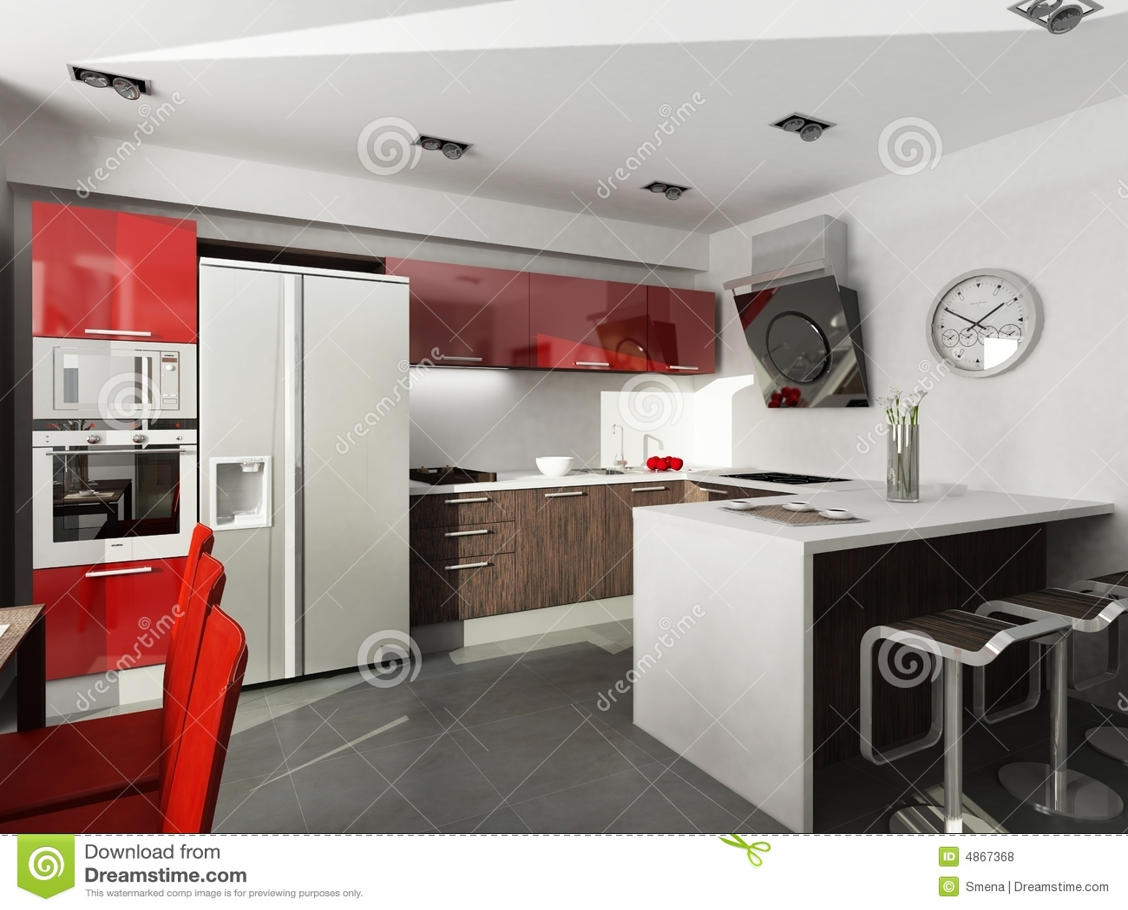 Modern Interior Design Royalty Free Stock Photos Image 4867368