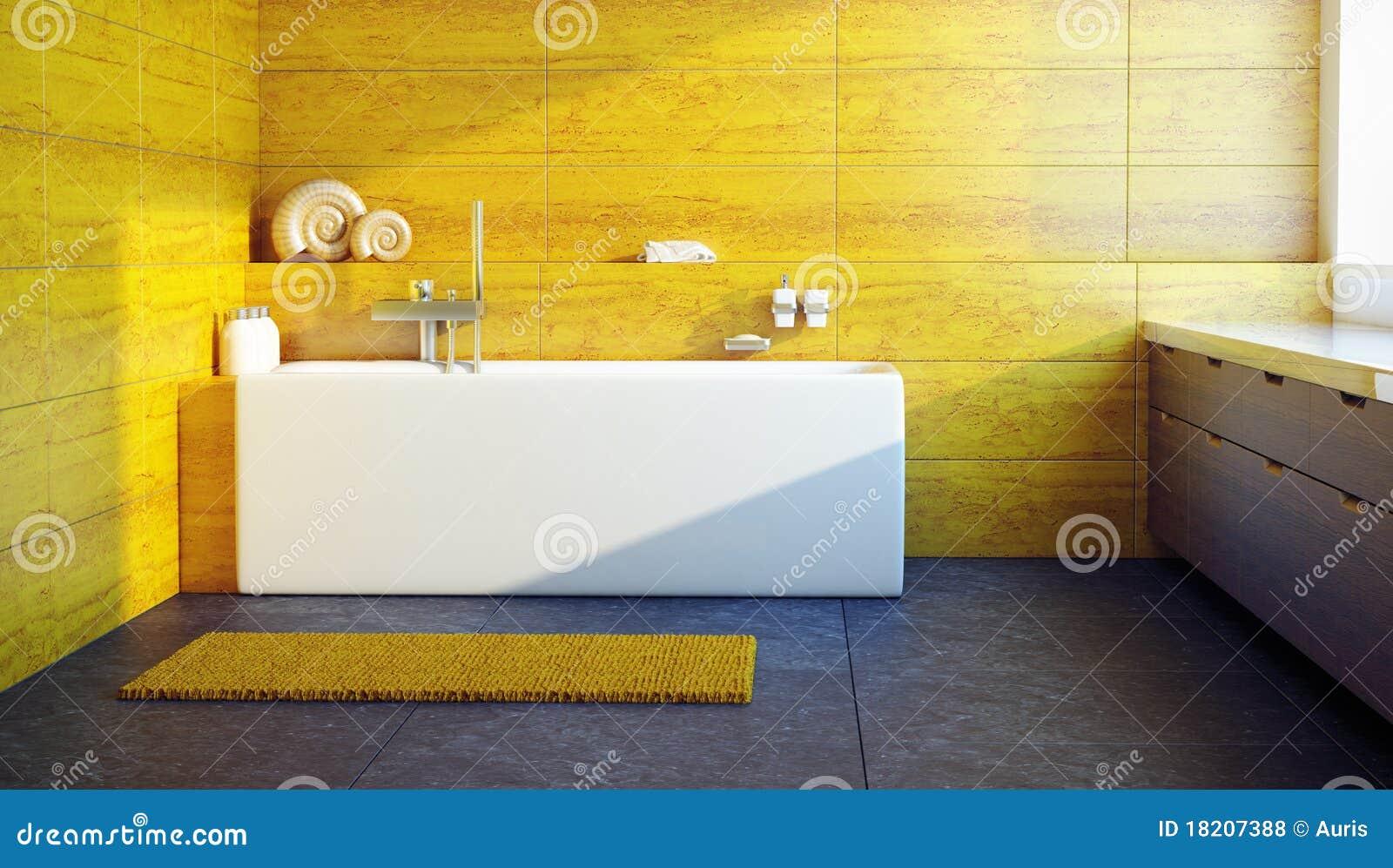 Modern Interior Design Of A Bathroom Royalty Free Stock Photos Image 18207388