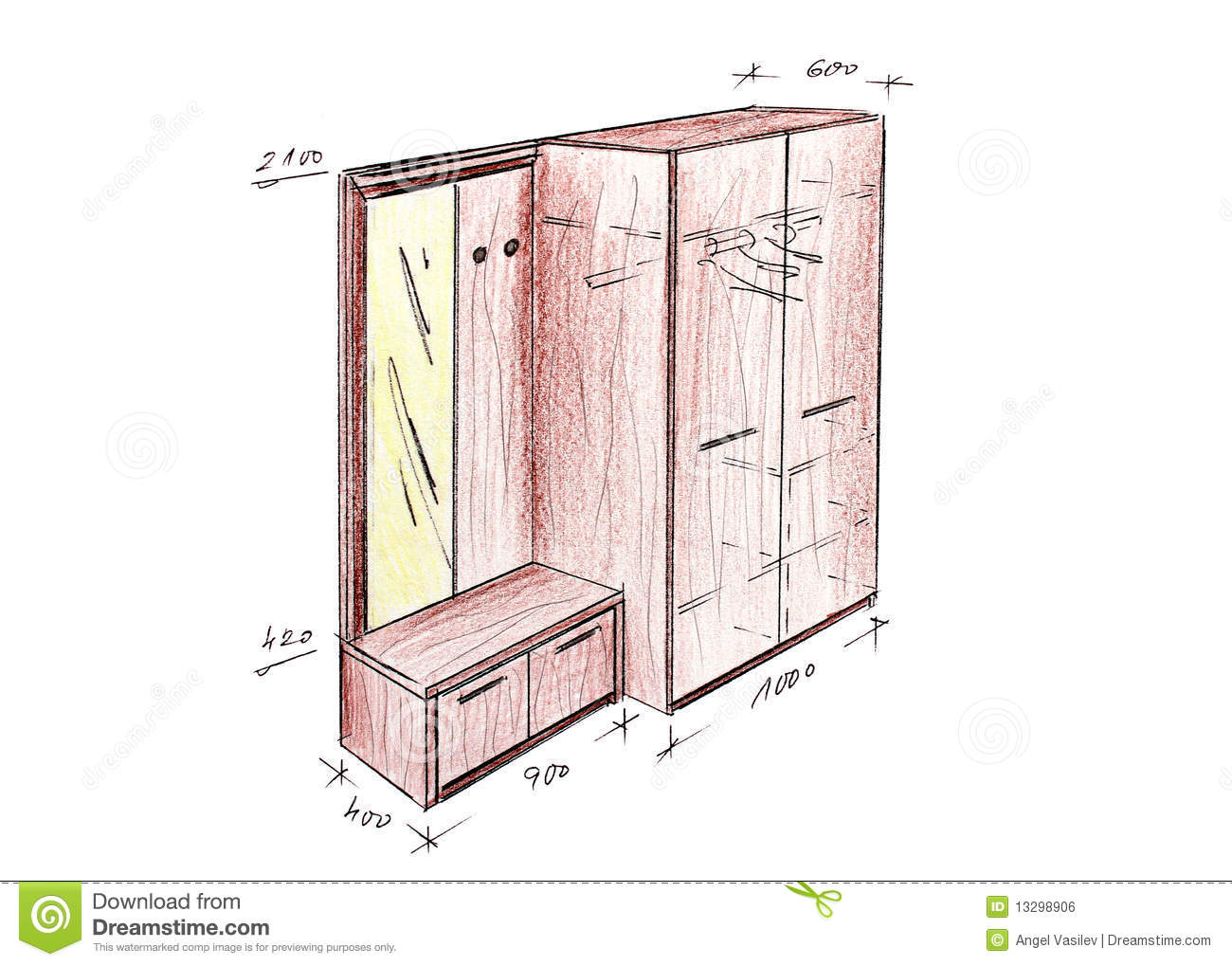 furniture design drawings. royaltyfree stock photo download modern interior design entrance freehand drawing furniture drawings