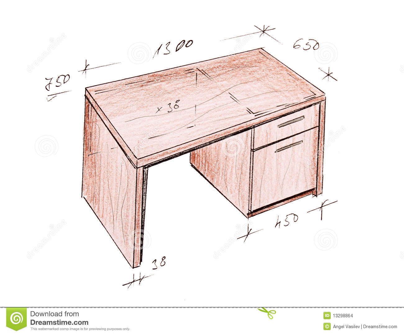 Modern Furniture Drawings modern interior design freehand drawing. stock images - image