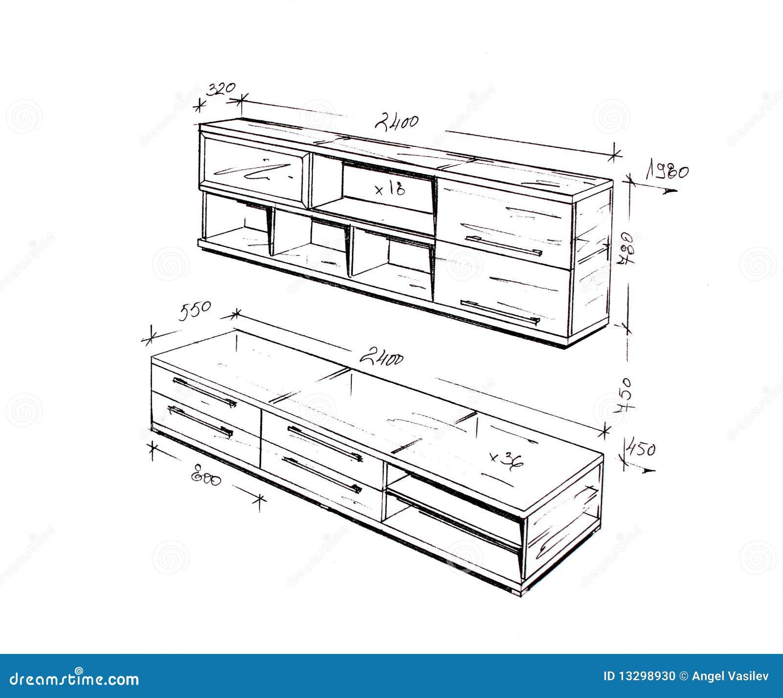 Interior design drawings modern interior design