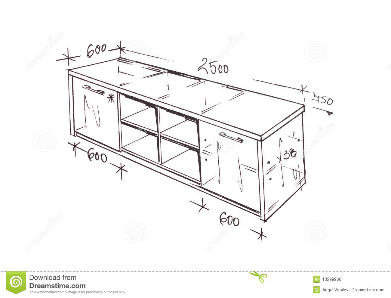 interior design drawings beginner hand drawn illustration of furniture isolated on white please feel welcome to check out my huge superior library interior hand drawings designers modern interior design freehand drawing stock illustration