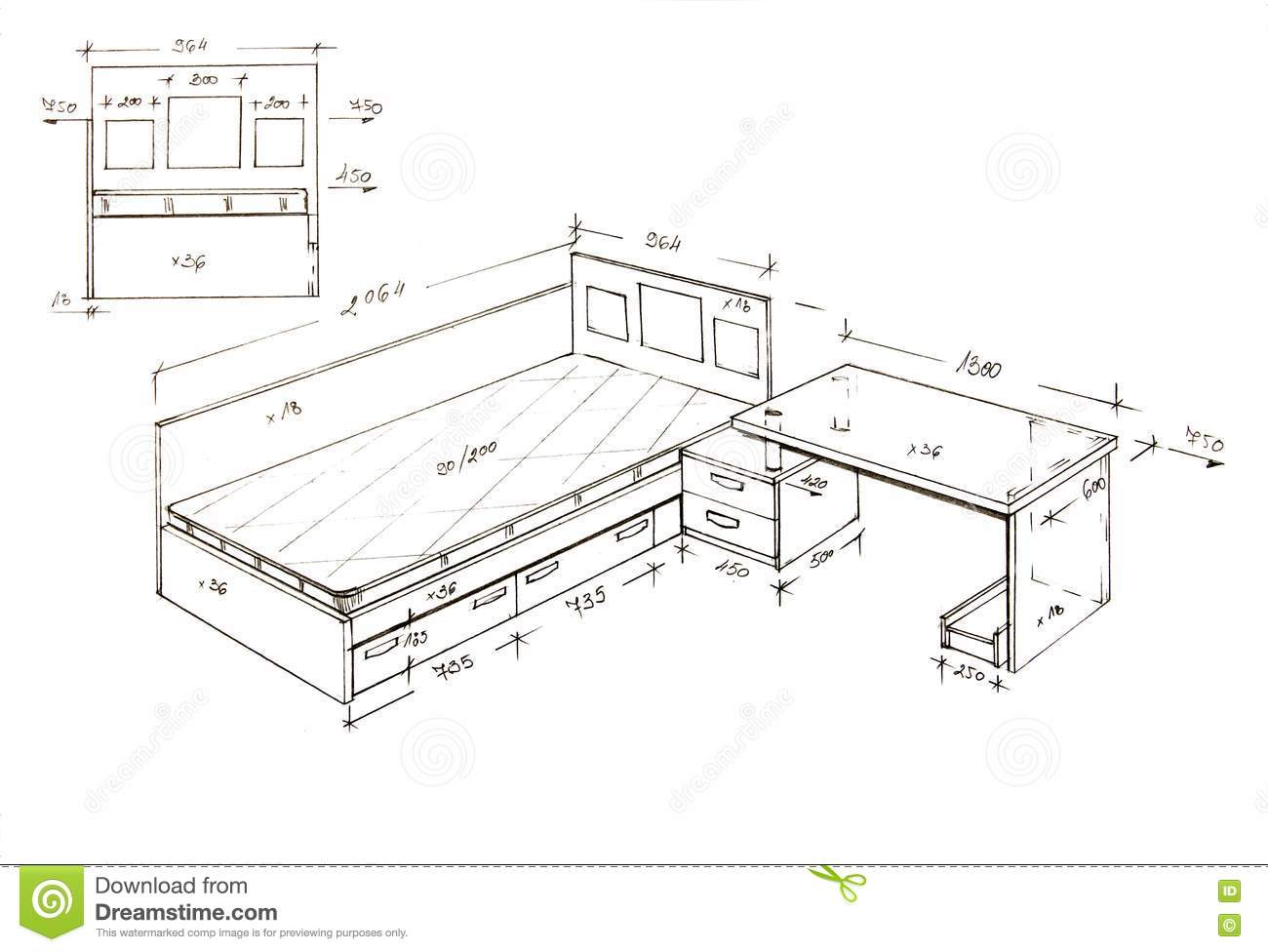 Modern Furniture Drawings modern furniture design drawings