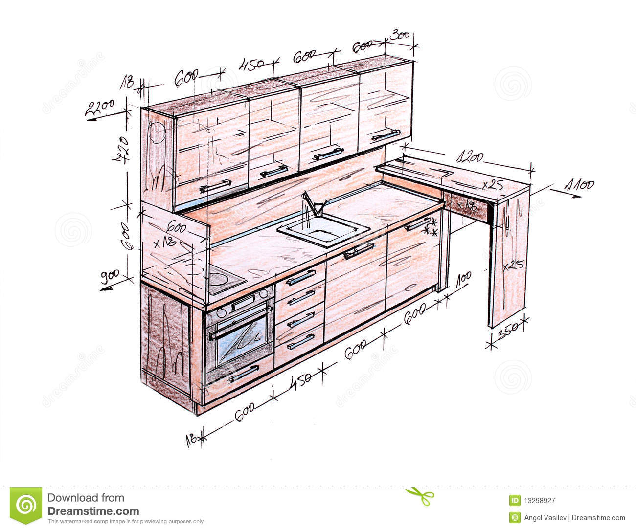 Furniture Design Drawings The Interior Designs