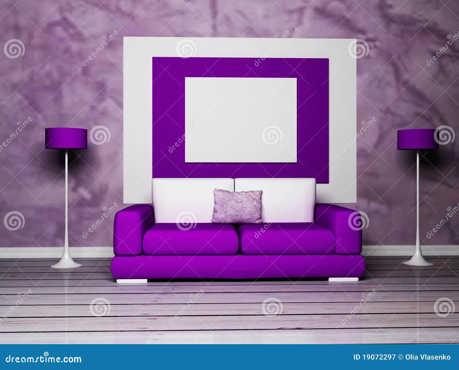 Interior Design Purple Living Room Interior Design Of Modern Black Living Room Royalty Free Stock