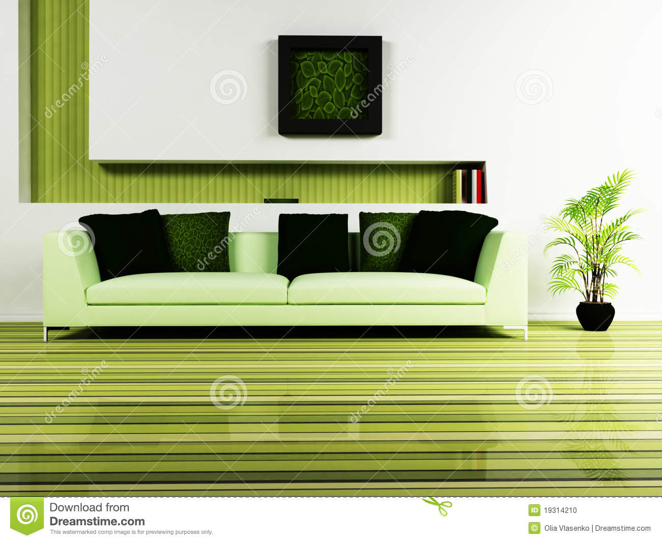 Modern Interior Design For Living Room Modern Interior Design Of Living Room Stock Photo Image 19314210