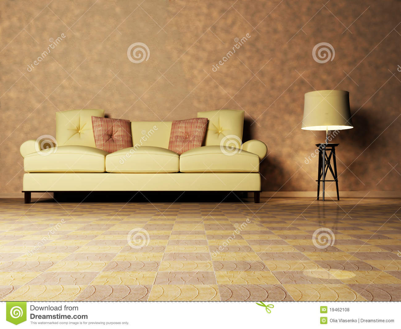 Modern Interior Design For Living Room Modern Brown Interior Design Living Room Stock Photo Image 39432667